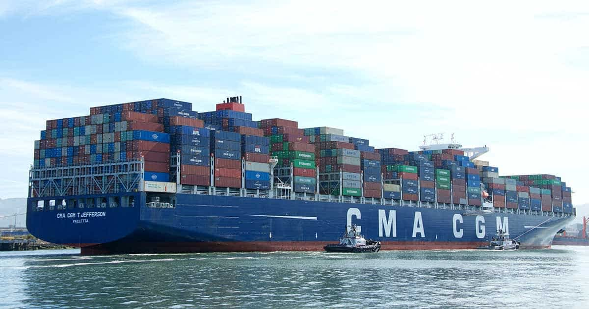 CMA CGM puts the brake on Asia-Europe