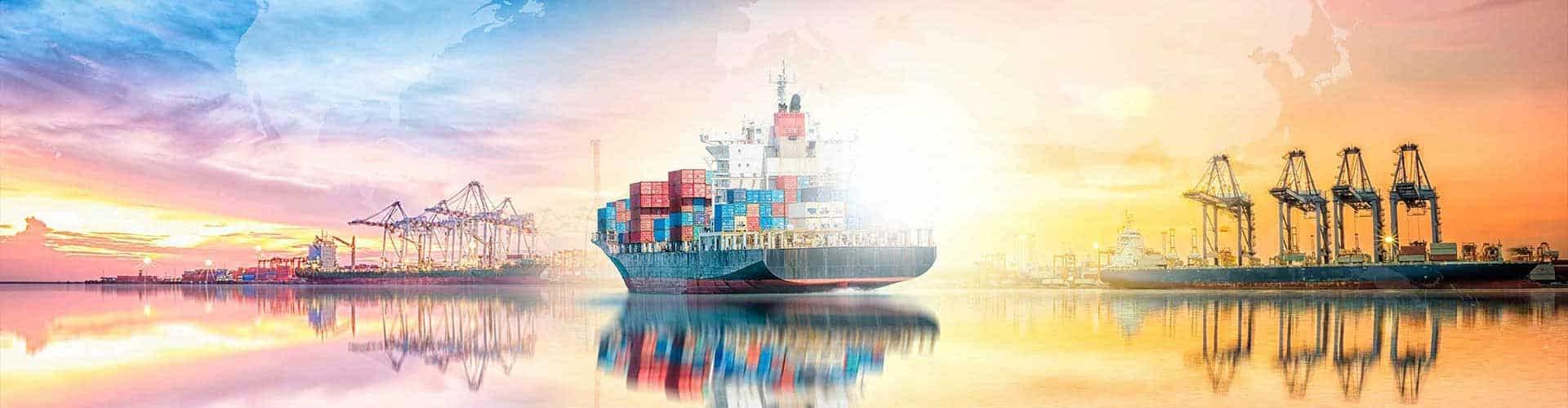 Offertanfrage Seefracht Offerte Sammelcontainer LCL - FCL