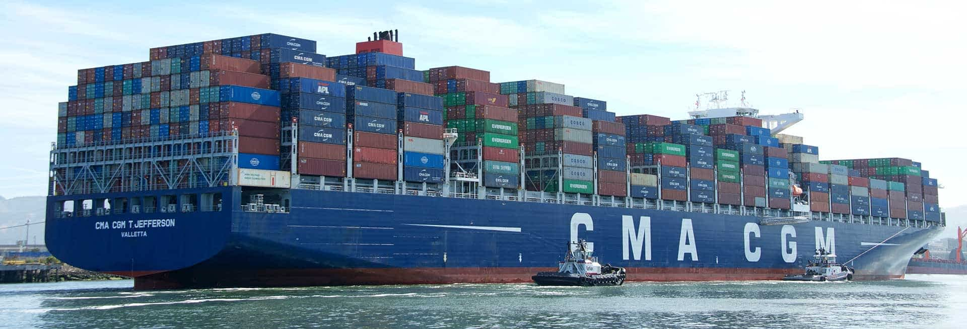 CMA CGM stoppt Buchungen fuer Asien Europa