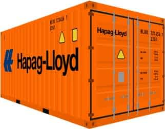 20 Standard Container ISO Container