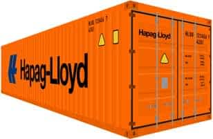 40 Standard Container ISO Container
