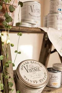 Vintage Paint Kreidefarbe Wachs Pincel