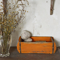 Vintage Paint Kreidefarbe Rusty Orange