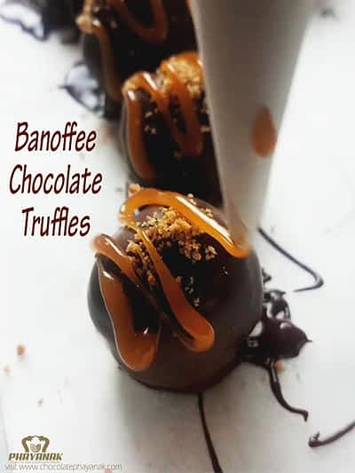 Banoffee Chocolate Truffles