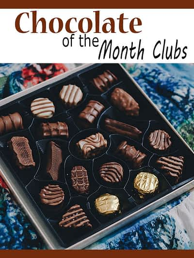 Chocolate of the month clubs