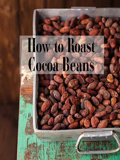 How to roast cocoa beans at home