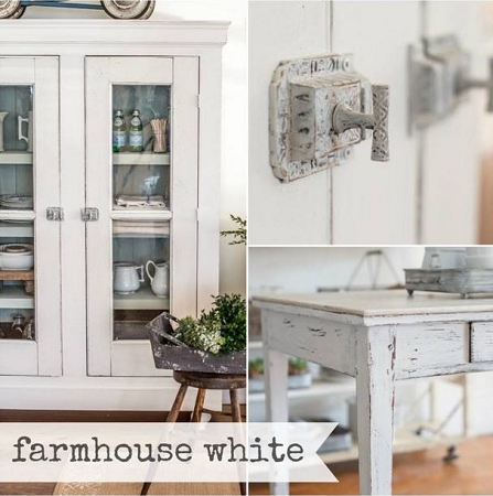 Farmhouse White Miss Mustard Seed's Milk Paint Milchfarbe