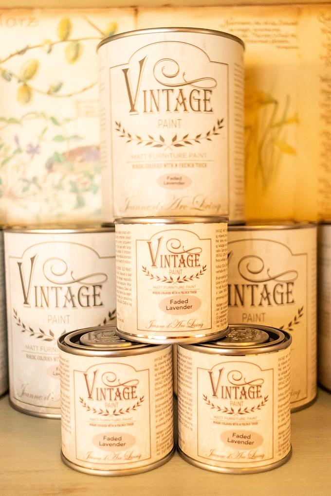 Vintage Paint Kalkfarbe Faded Lavender