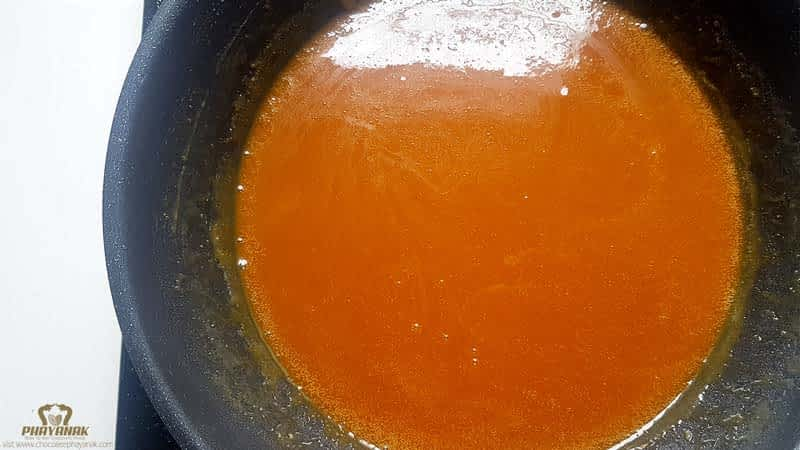 How to make caramel sauce