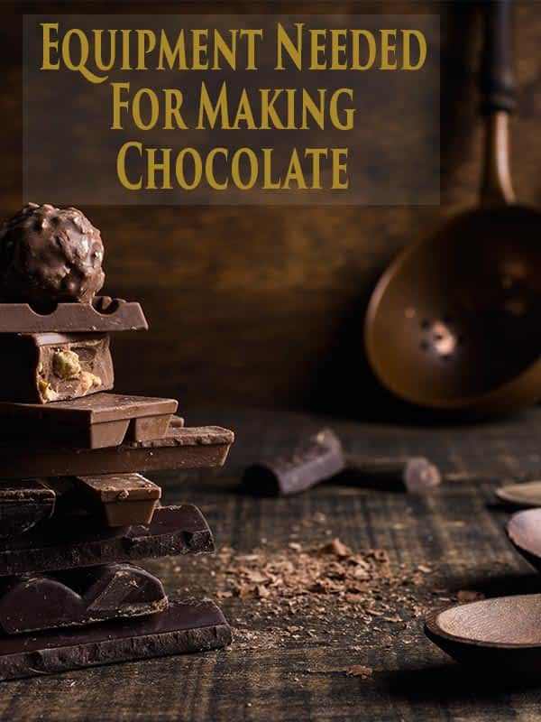 Equipment needed for making chocolate at home
